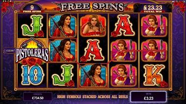 Pistoleras Online Slot - Microgaming - Rizk Online Casino Sverige
