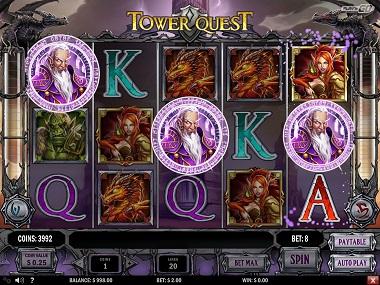 Tower Quest Bonus Trigger