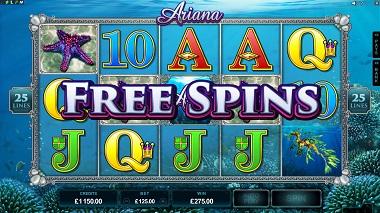 Ariana Free Spins
