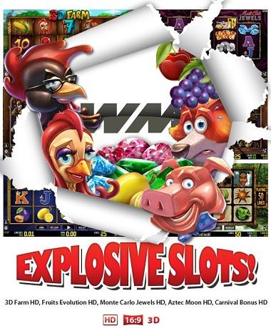 Explosive Slots World Match
