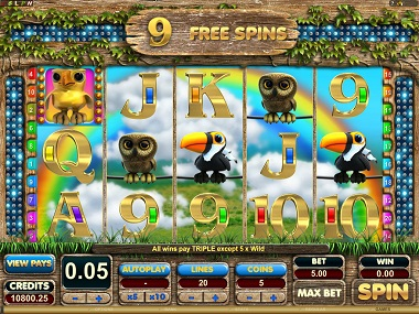 Feathered Frenzy Free Spins