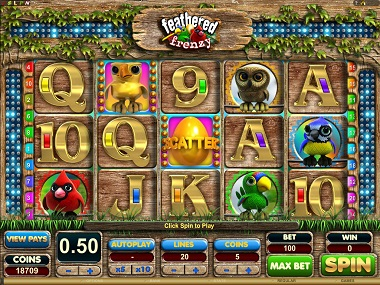 Feathered Frenzy Slot Game