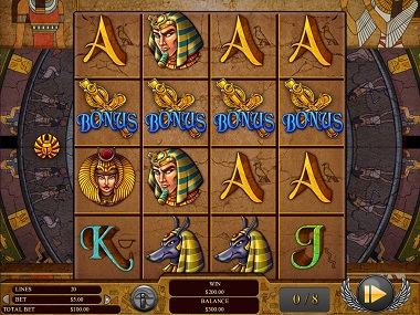 Gods of Giza Slot Bonus