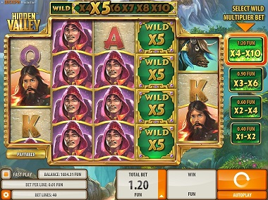 Hidden Valley Slot Game