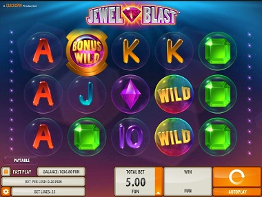 Jewel Blast Slot Base Game