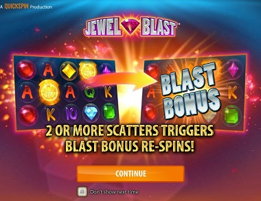Jewel Blast Slot Quickspin