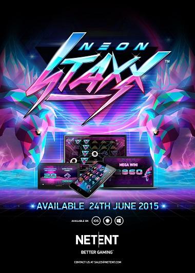 Neon Staxx Slot NetEnt