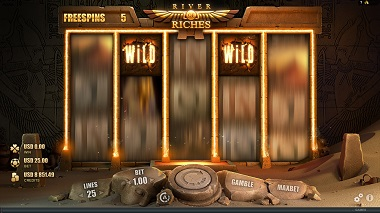 River of Riches Slot Free Spins