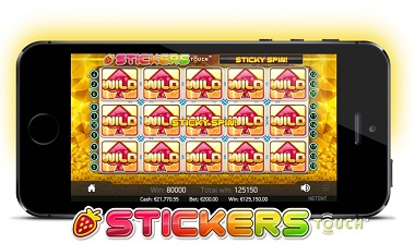 Stickers Slot Mobile
