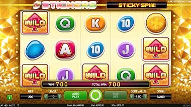 Stickers Slot Sticky Spin