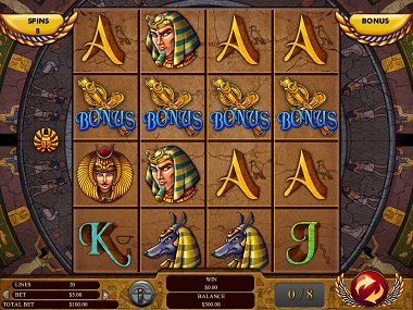 Gods of Giza Slot Screenshot