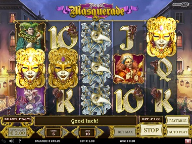Royal Masquerade Slot - Play n Go Casino - Rizk Deutschland Casino