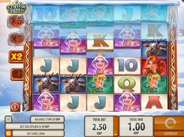 Crystal Queen Slot Screenshot