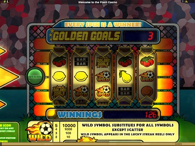 Golden Goals Big Time Gaming