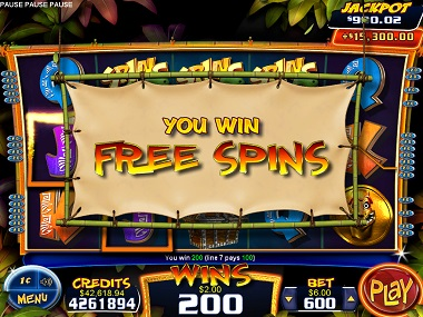 Gonga Party Slot Free Spins