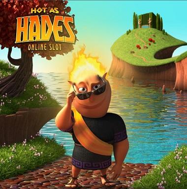 Hot as Hades Video Slot Poster