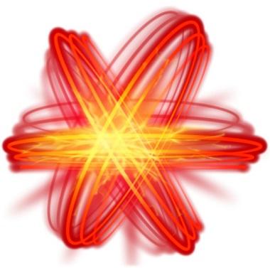 Sparks Red Symbol