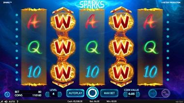 Sparks Slot NetEnt