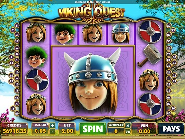 Viking Quest Big Time Gaming