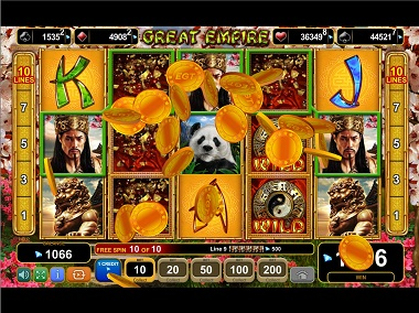 Great Empire Slot - Win Big Playing Online Casino Games