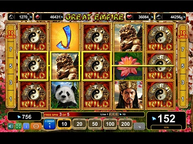 Great Empire Slot Wilds
