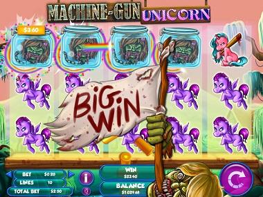 Machine Gun Unicorn Big Win