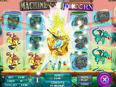 Machine Gun Unicorn Slot Bonus