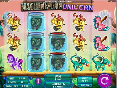 Machine Gun Unicorn Slot Game