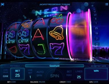 Neon Reels Scatters