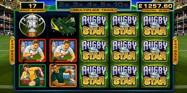 Rugby Star Slot Wilds