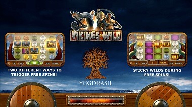 Vikings Go Wild Yggdrasil