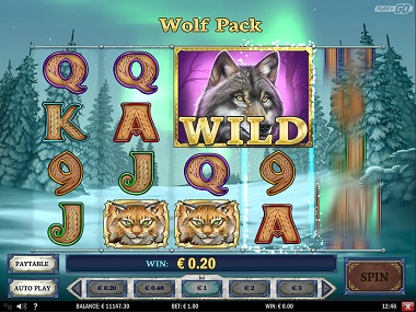 Wild North Slot Wolf Wild