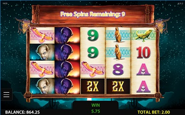 Double Buffalo Spirit Slot 4