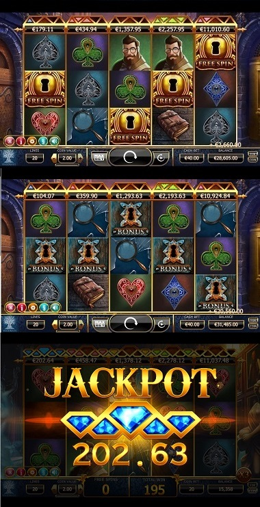 Holmes and the Stolen Stones Slot 3