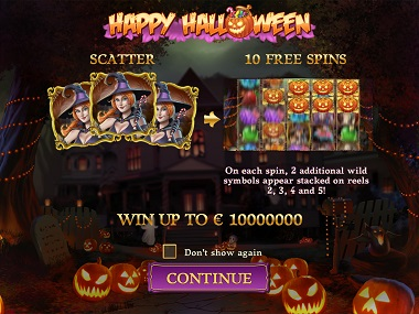 Happy Halloween Slot Play'n GO 1