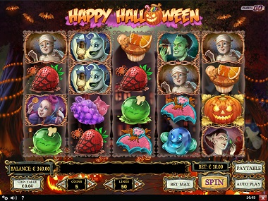 Happy Halloween Slot Play'n GO 2