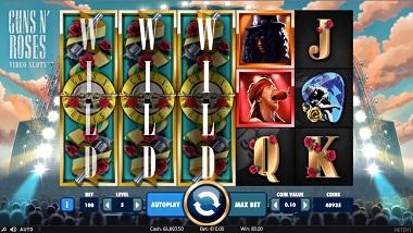 Guns N Roses Slot NetEnt 1