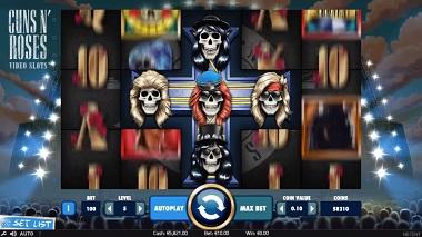Guns N Roses Slot NetEnt 2