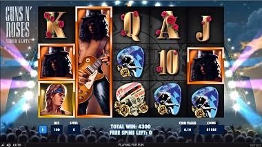 Guns N Roses Slot NetEnt 3