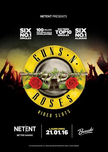 Guns N Roses Slot NetEnt