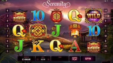 Serenity Slot Microgaming 2