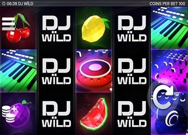 DJ Wild Slot Elk Studios