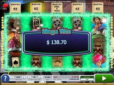 Gunsmoke Slot Big Win