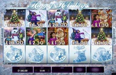 Happy Holidays Slot Frosty