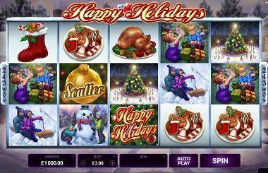 Happy Holidays Slot Microgaming