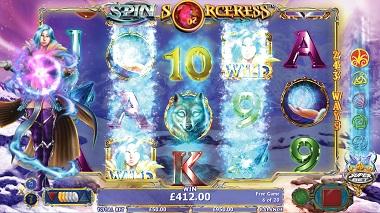 Spin Sorceress Slot NextGen