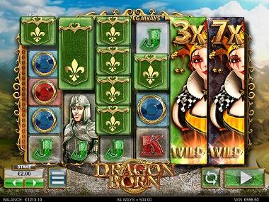 Dragon Born Slot Base Game