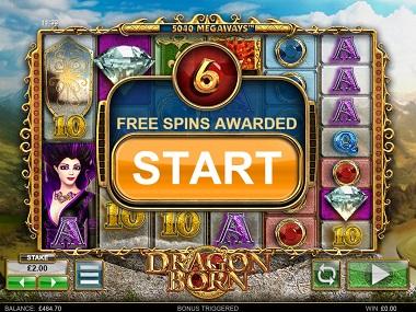 Dragon Born Slot Free Spins