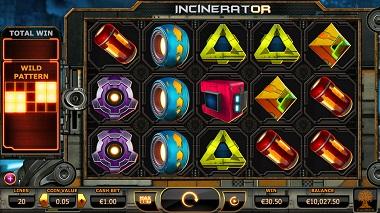 Incinerator Slot Yggdrasil 1