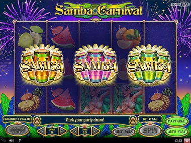 Samba Carnival Play'n GO Slot 1